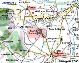 Cartina Michelin Piemonte.Il Complesso Abbaziale Di Staffarda Cn Informazioni Utili Per Viaggiare Informati